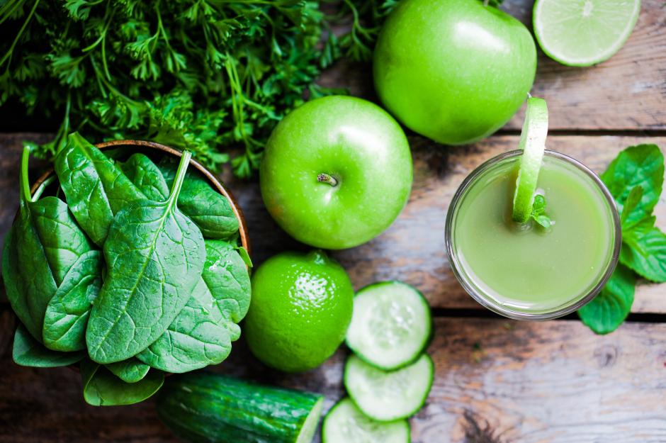 fruta para jugos verdes