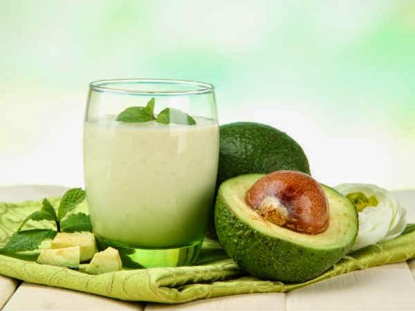 Batidos para bajar de peso hecho con frutas