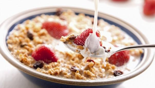 Bol de comida para dieta de la avena
