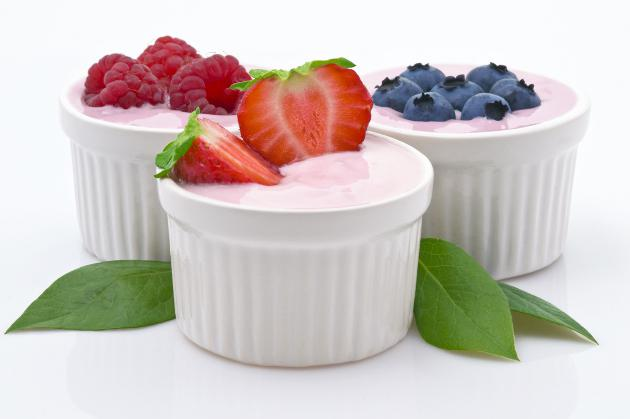 Yogures para dieta del yogur