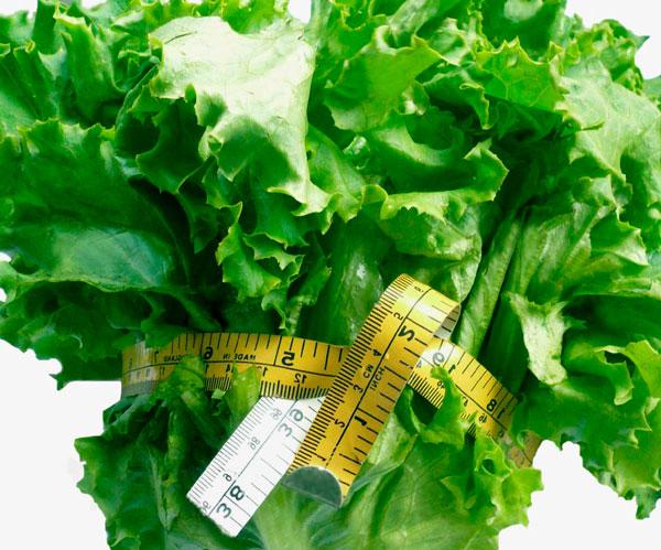 Verdura para cenar y adelgazar