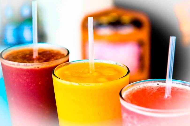 Jugos detox para dietas y smoothie detox