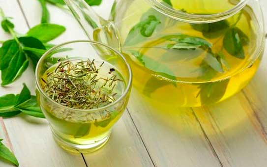 Dieta té verde y té rojo para adelgazar