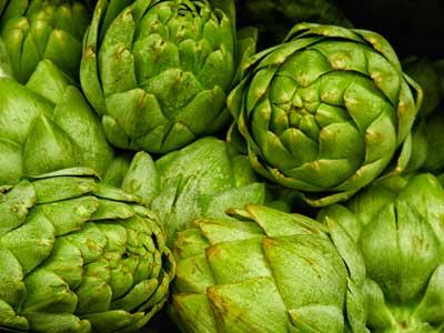 alcachofas verdes preparadas para adelgazar