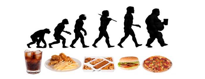 evolución sin dieta Paleo