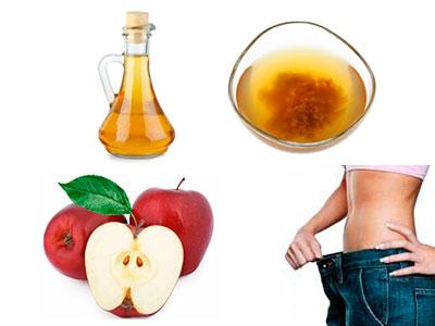 propiedades del vinagre de manzana para adelgazar