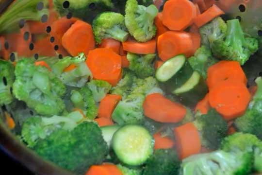 como bajar 15 kilos con verduras