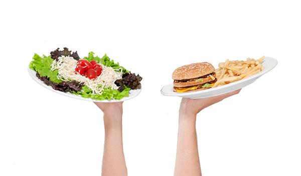 Dieta para bajar de peso sin rebote