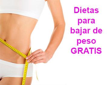 Dietas para bajar de peso gratis