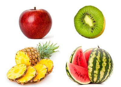 lista de frutas para bajar de peso