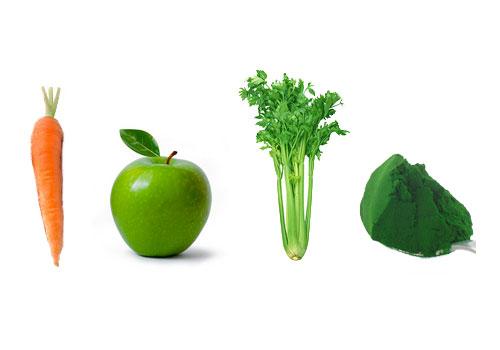 Ingredientes jugo verde detox