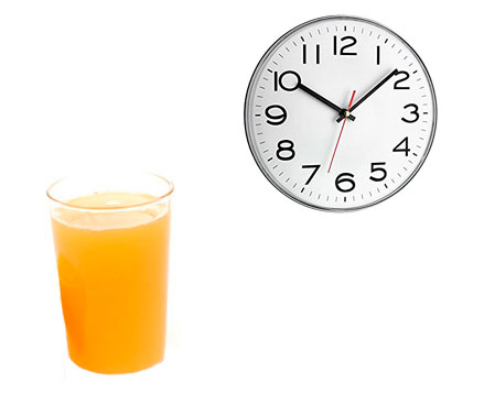 Vitaminas del zumo de frutas