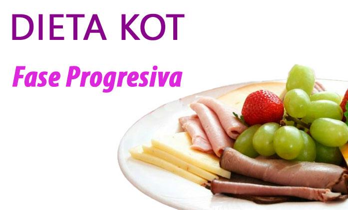Fase progresiva Dieta Kot