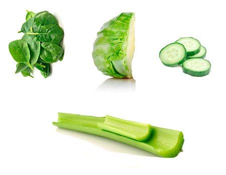 ingredientes del jugo verde para bajar de peso