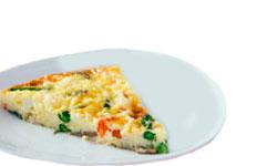 tortilla de verduras para cenas ligeras