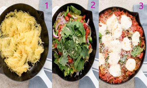 Espaguetis de calabacín prepardos paso a paso
