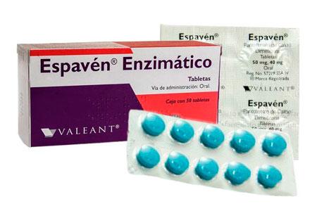 Espaven enzimático caja y tableta