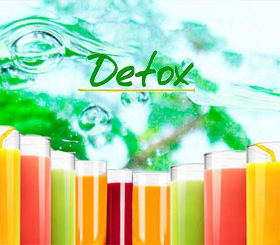 Jugos de jugoterapia detox