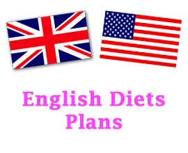 English diets plans (dietas en inglés)