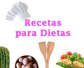 Recetas para Dietas