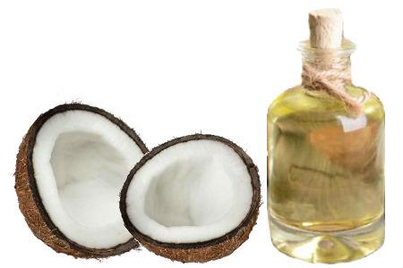 Aceite de coco en ayunas