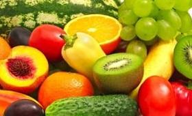 Alimentos con vitaminas A, B, C y D