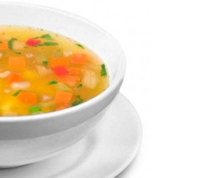 caldo de verduras para adelgazar