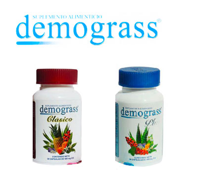 Pastillas demograss plus y demograss clásico