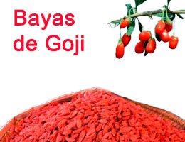 Bayas de Goji en semillas