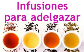 Infusiones o té para adelgazar