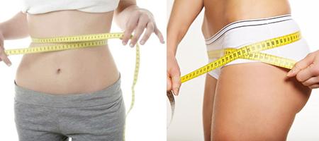 Antes y después de la dieta de la manzana